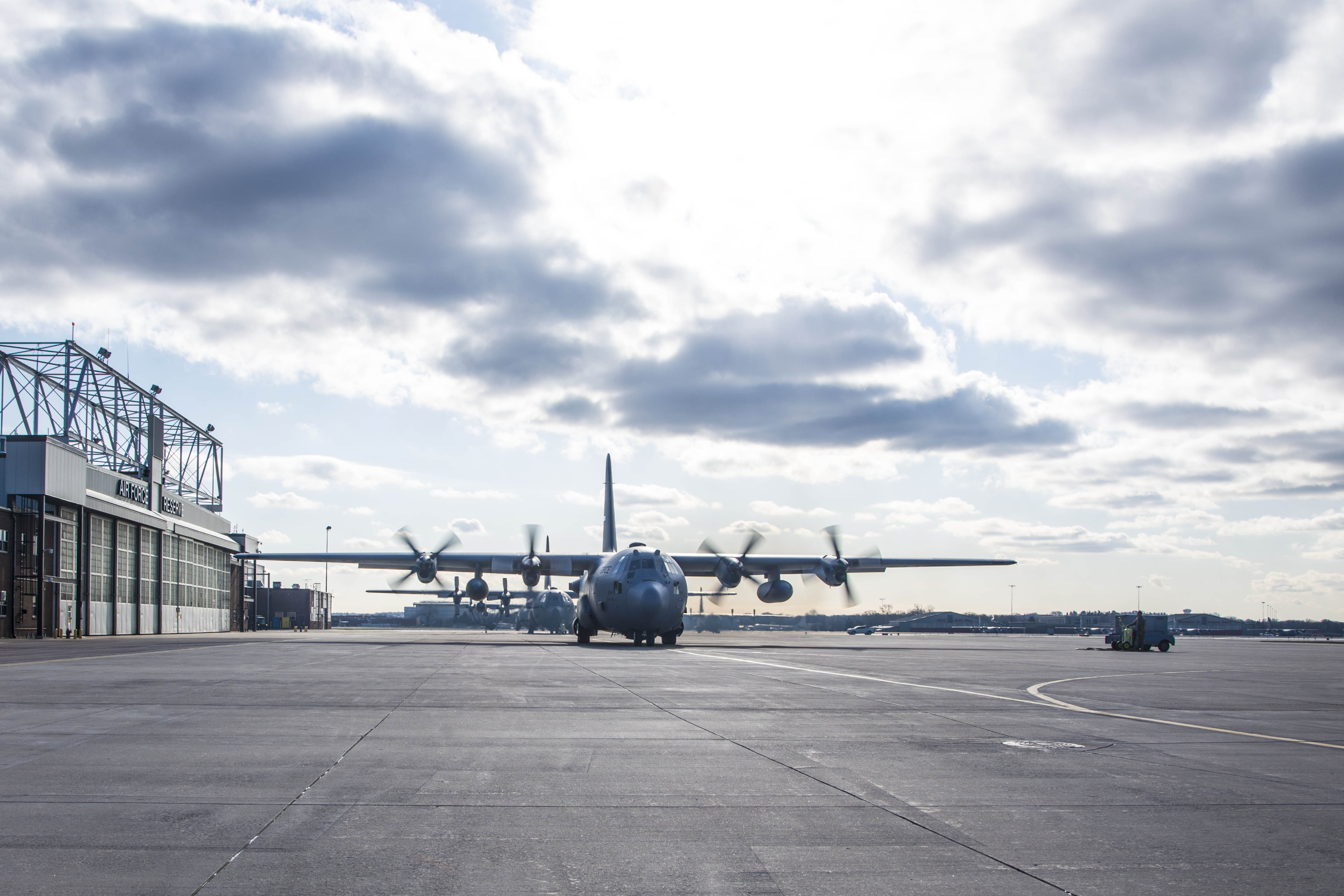 934 AES DEPLOYS TO SAVE LIVES