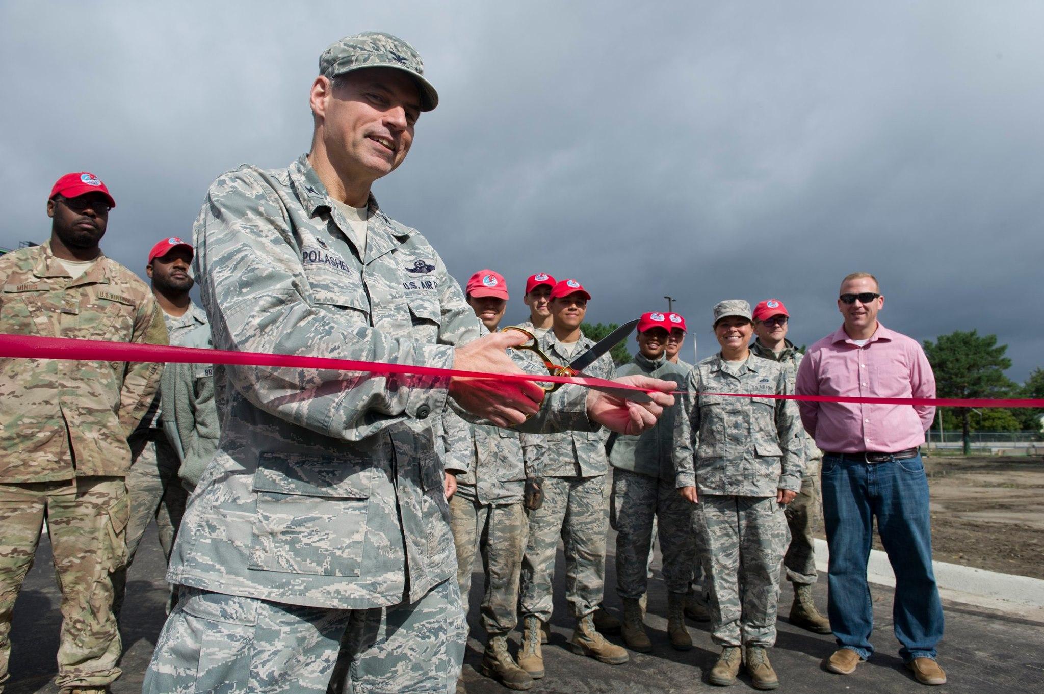 934th Opens New Perimeter Road